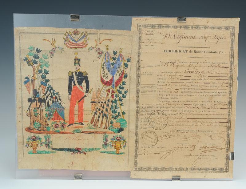 20180916_16e-Léger_Certificat-bonne-conduite_Monarchie-juillet_01_B-Malvaux