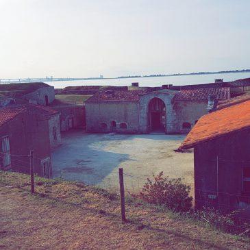 Semaine 15 au 19 juillet 2019 – Bivouac au fort La Prée sur l'île de Ré