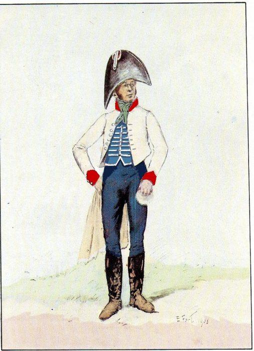 Chirurgien 16e léger 1811-1812
