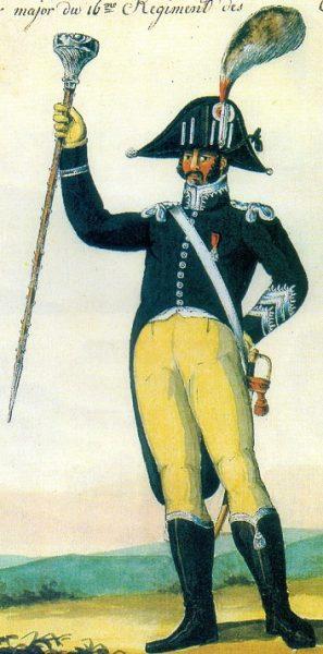 Tambour-Major 16e léger 1807-1808