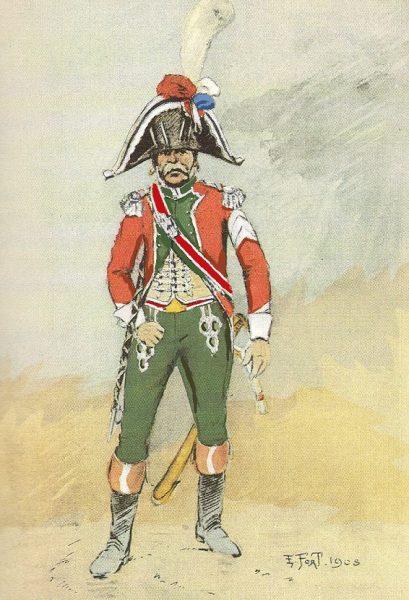 Tambour-Major 16e léger 1809-1811